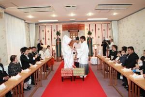 奄美観光ホテル, 神前式