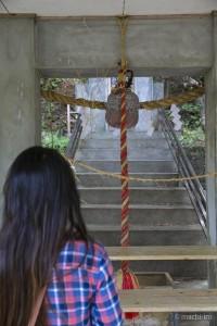 南洲神社社殿内写真