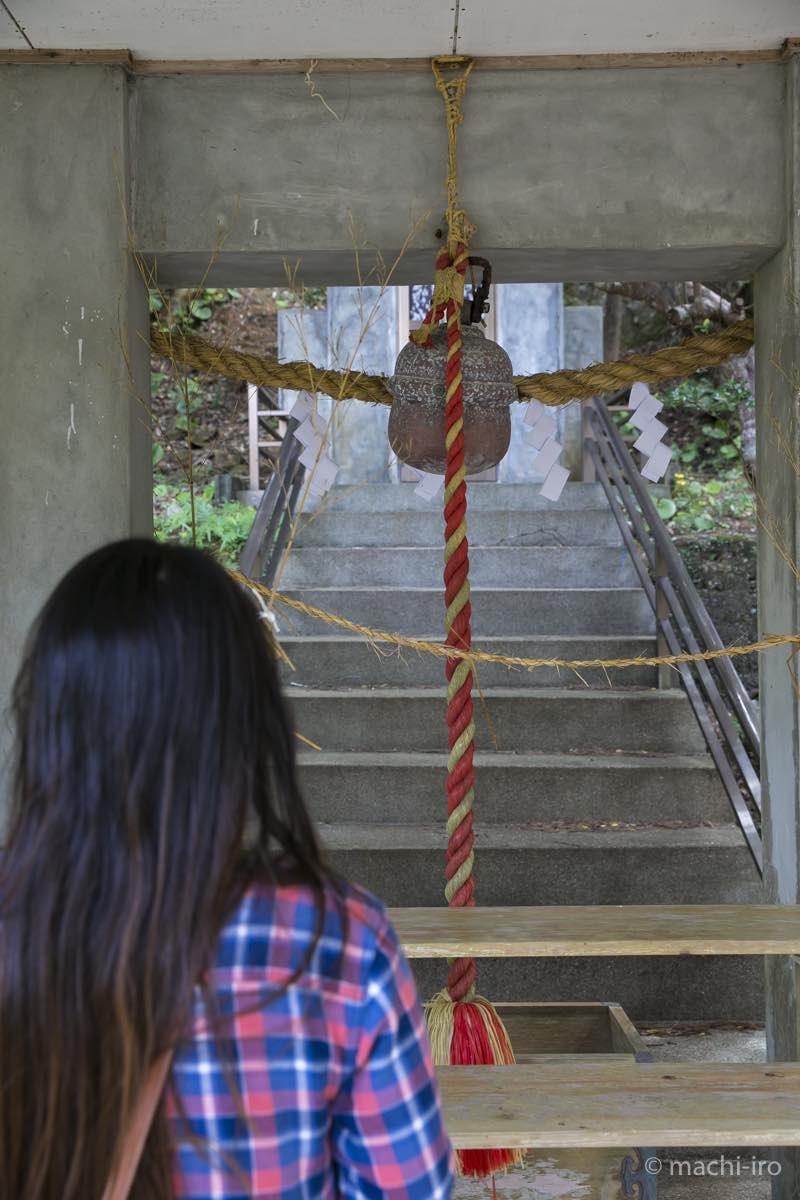 南洲神社社殿内