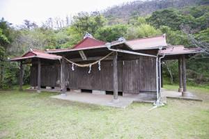 大熊龍王神社全景