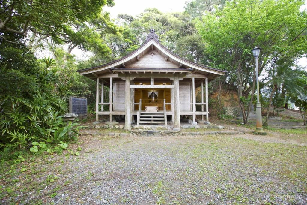 奄美探訪有盛神社写真