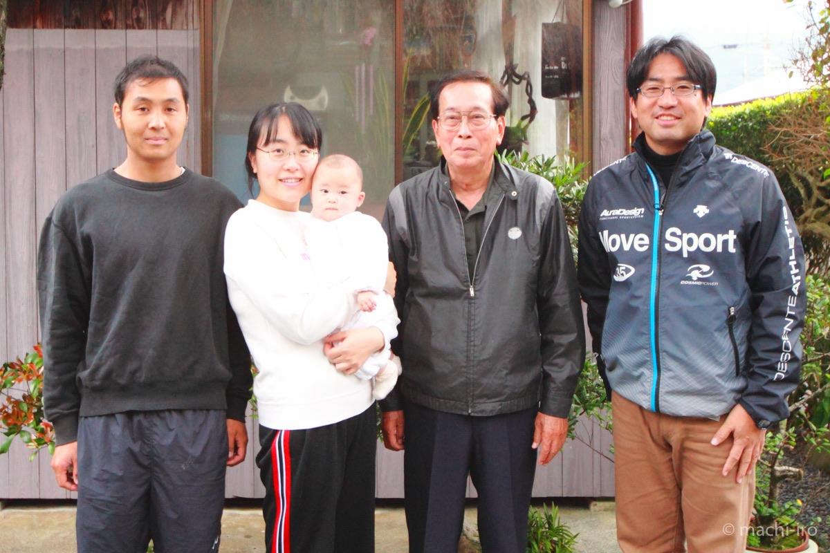 重山さんと喜島さん一家