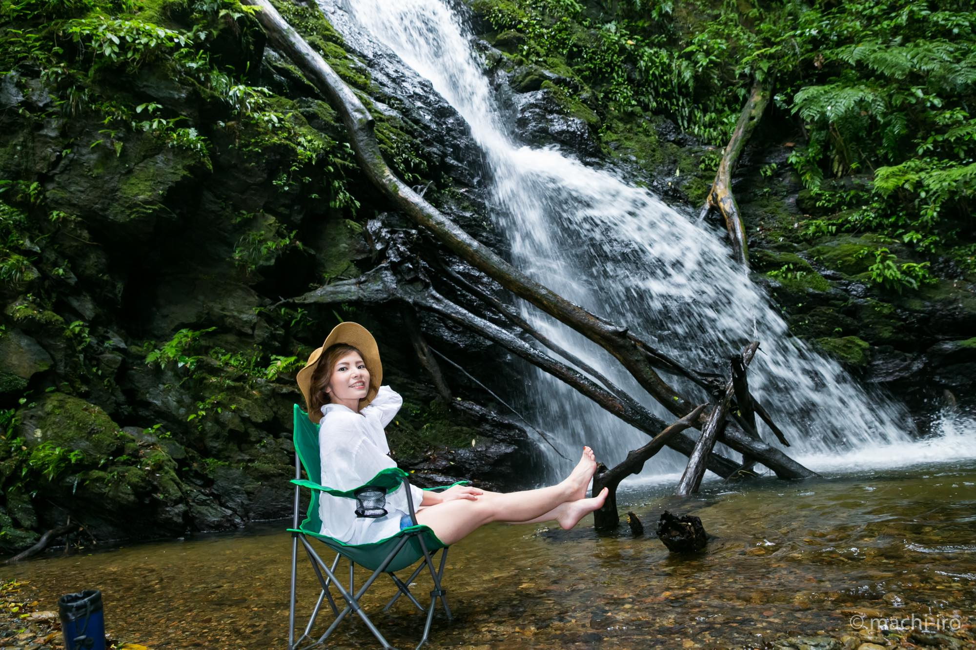 まちいろ観光特集 安念勝(アネンガチ)の滝 写真