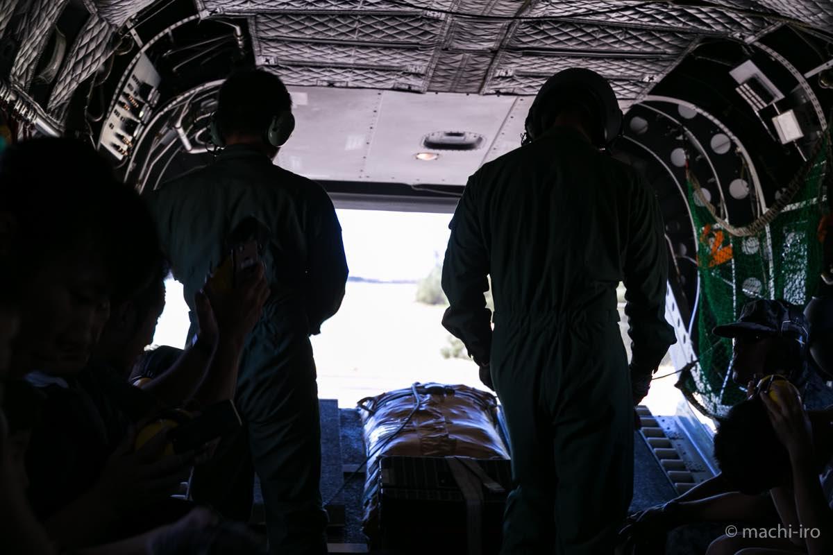 ch-47J 体験搭乗