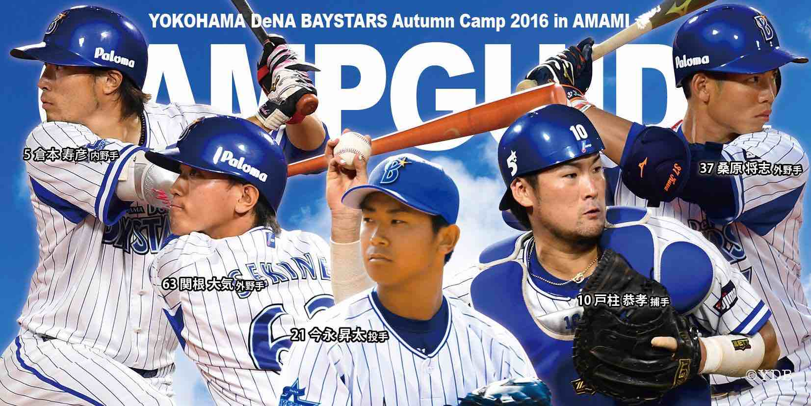 横浜DeNAベイスターズ2016年秋季奄美キャンプ