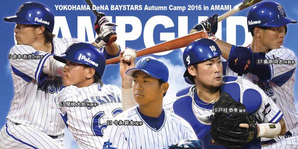 横浜DeNAベイスターズ2016秋季奄美キャンプ キャンプガイドバナー