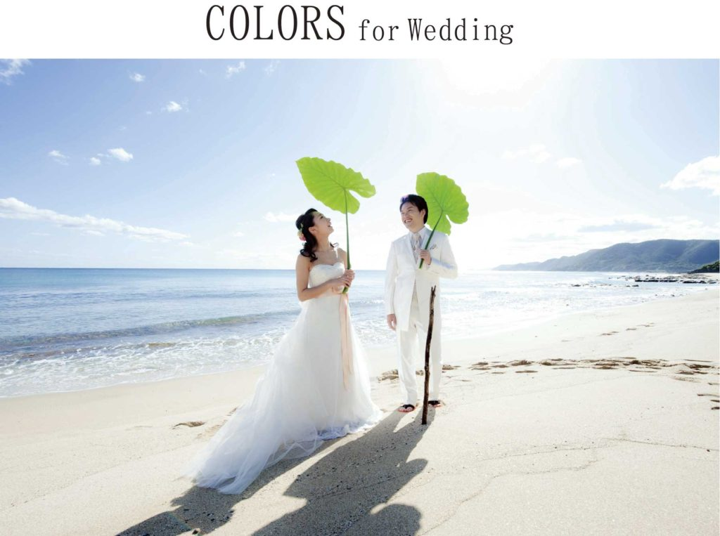 COLORS for wedding 画像