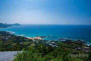 マチイロ撮影 加世間峠(2つの海が見える丘)の写真