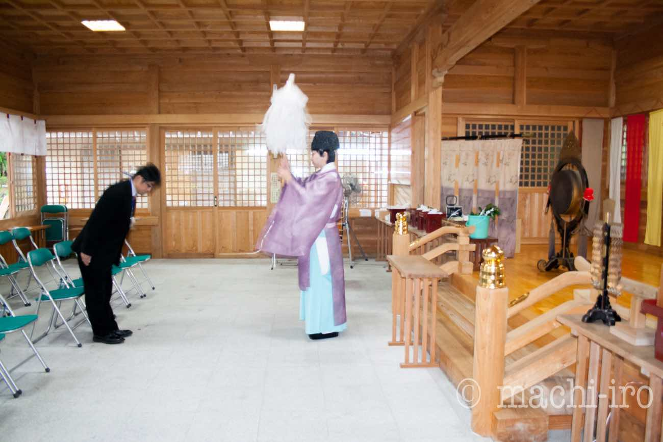 奄美探訪 高千穂神社 ©まちいろ