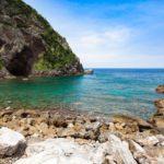 リアス式海岸の徳浜 写真