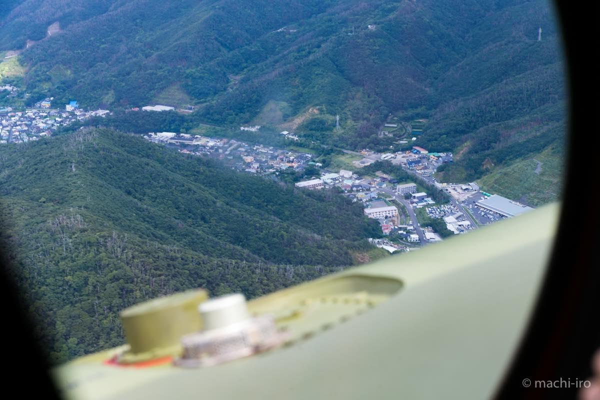CH-47Jからの空撮