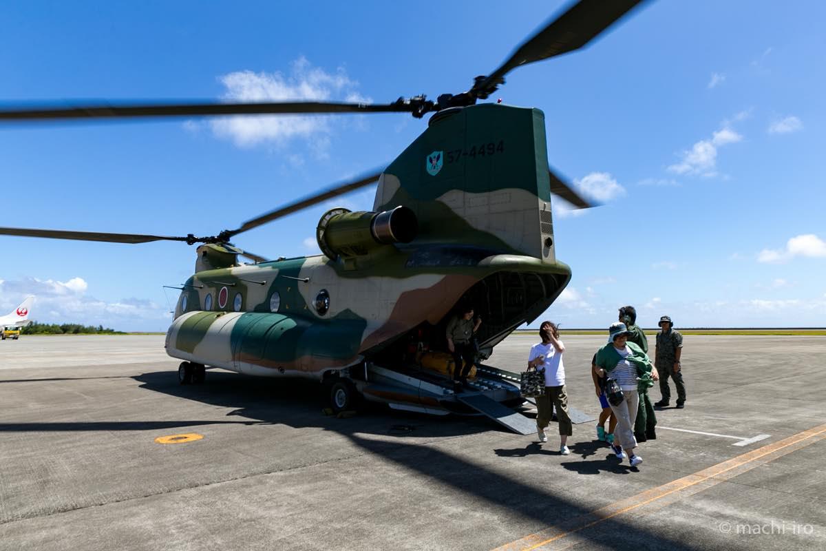 航空自衛隊CH-47J体験搭乗