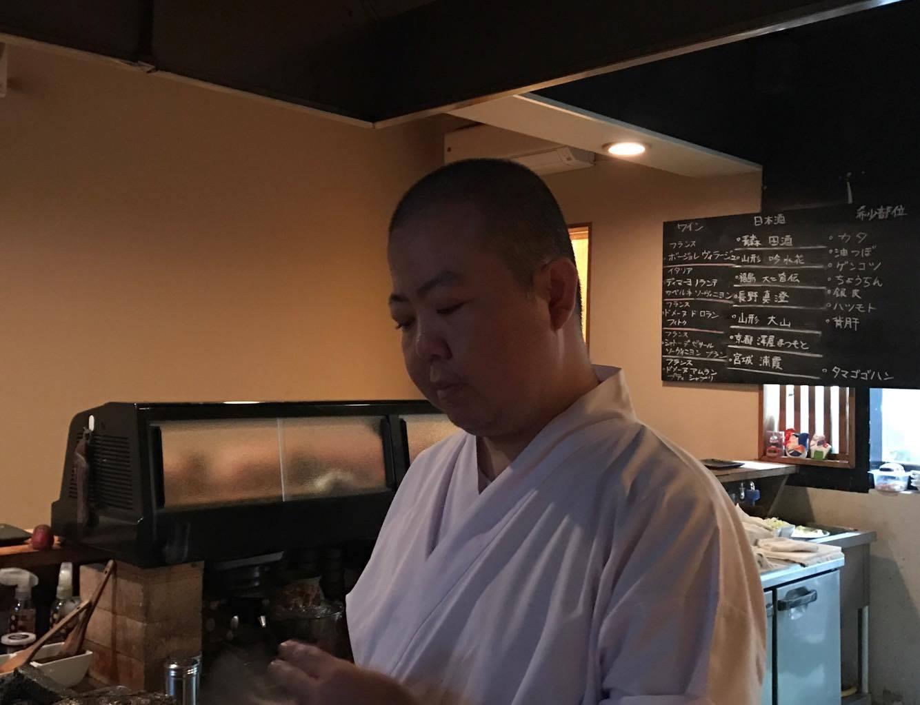 鳥重さんで、美味しい焼鳥と日本酒を堪能しました*