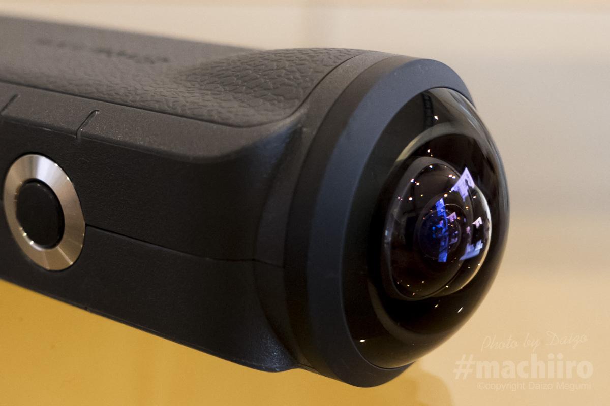 魚眼レンズカメラEntapano2が届きました。