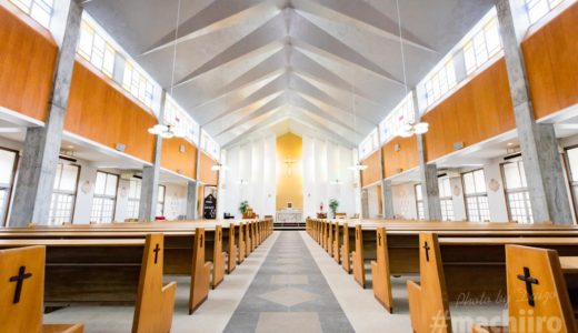 都市デザイン部門大賞受賞!カトリック名瀬聖心教会を撮影させていただきました。