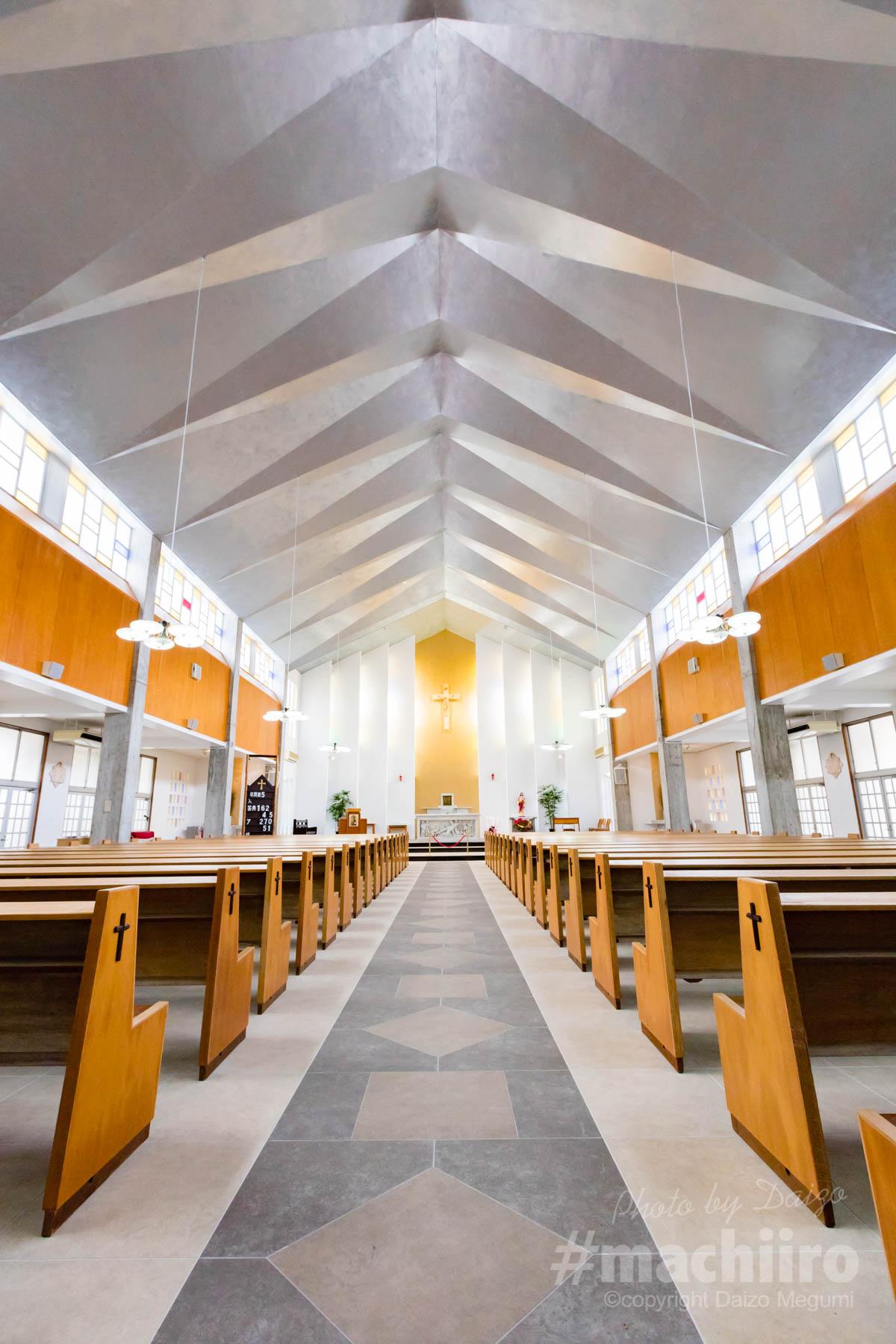 名瀬聖心教会 写真
