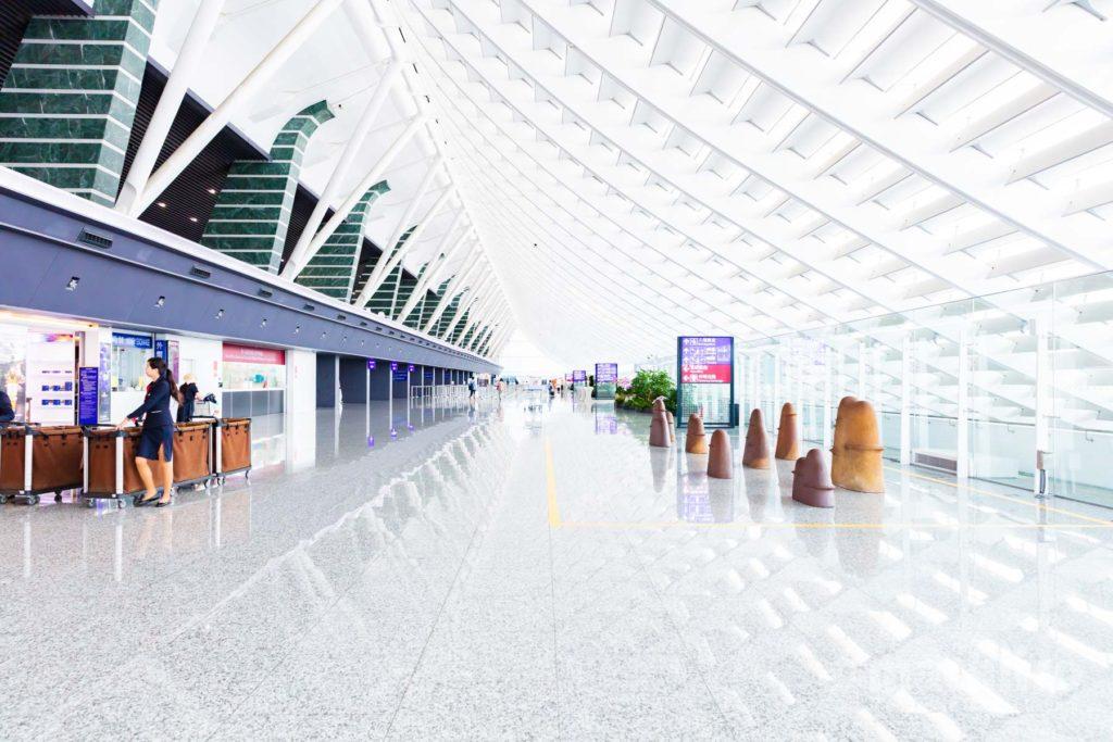 台湾桃園国際空港写真