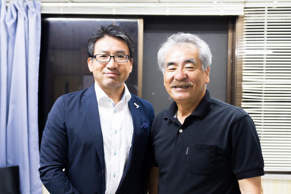 奄美探訪 浜田太氏 インタビュー写真