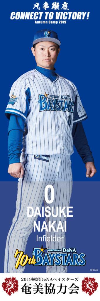 横浜DeNAベイスターズ Daisuke Nakai 選手