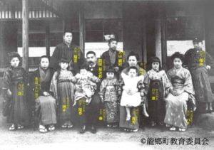 菊次郎・菊草家族写真