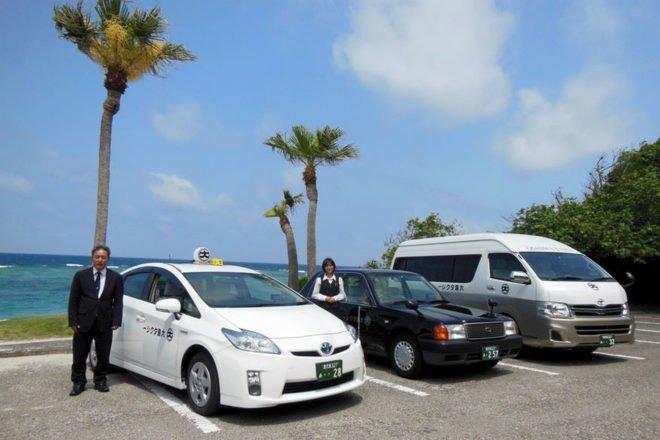 大島タクシー 集合写真