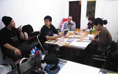 2007年6月8日 第一回 編集部会