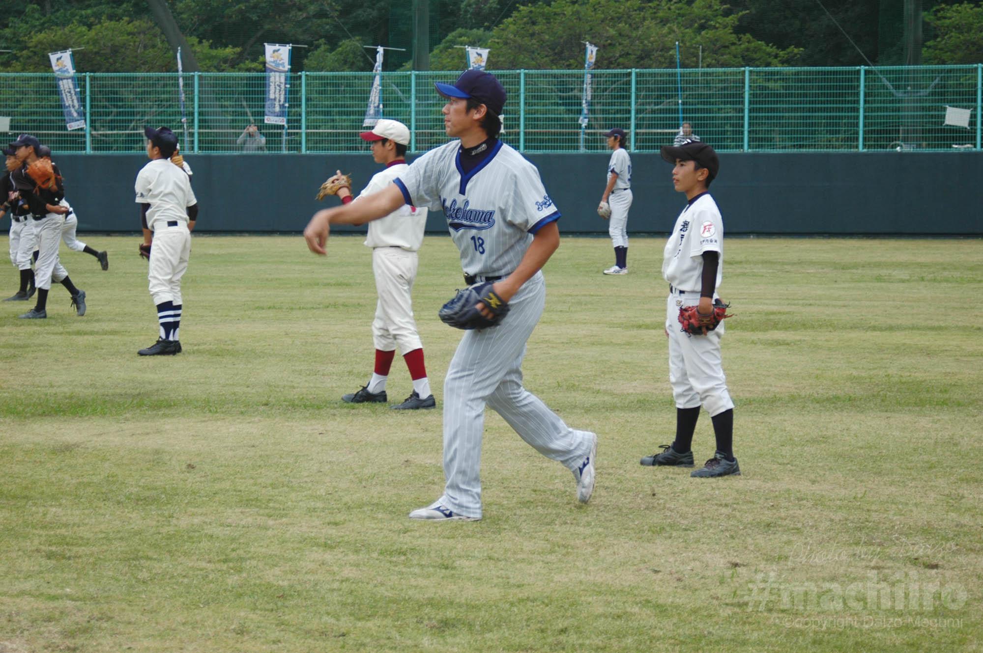 三浦大輔新監督 2010奄美秋季キャンプ Machiiro 記事写真 2
