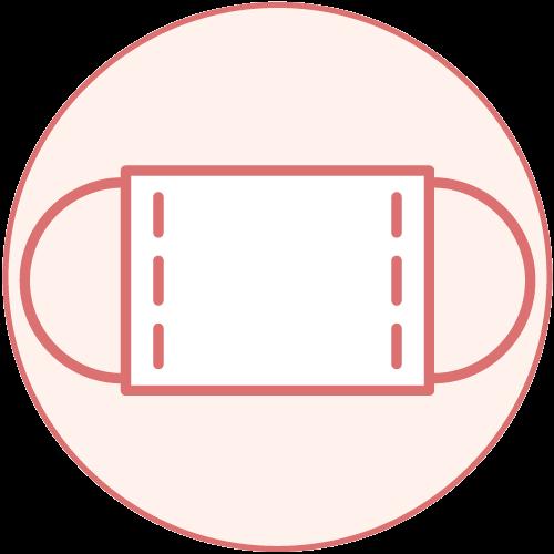 美容室特集 感染症対策ピクトグラム マスク