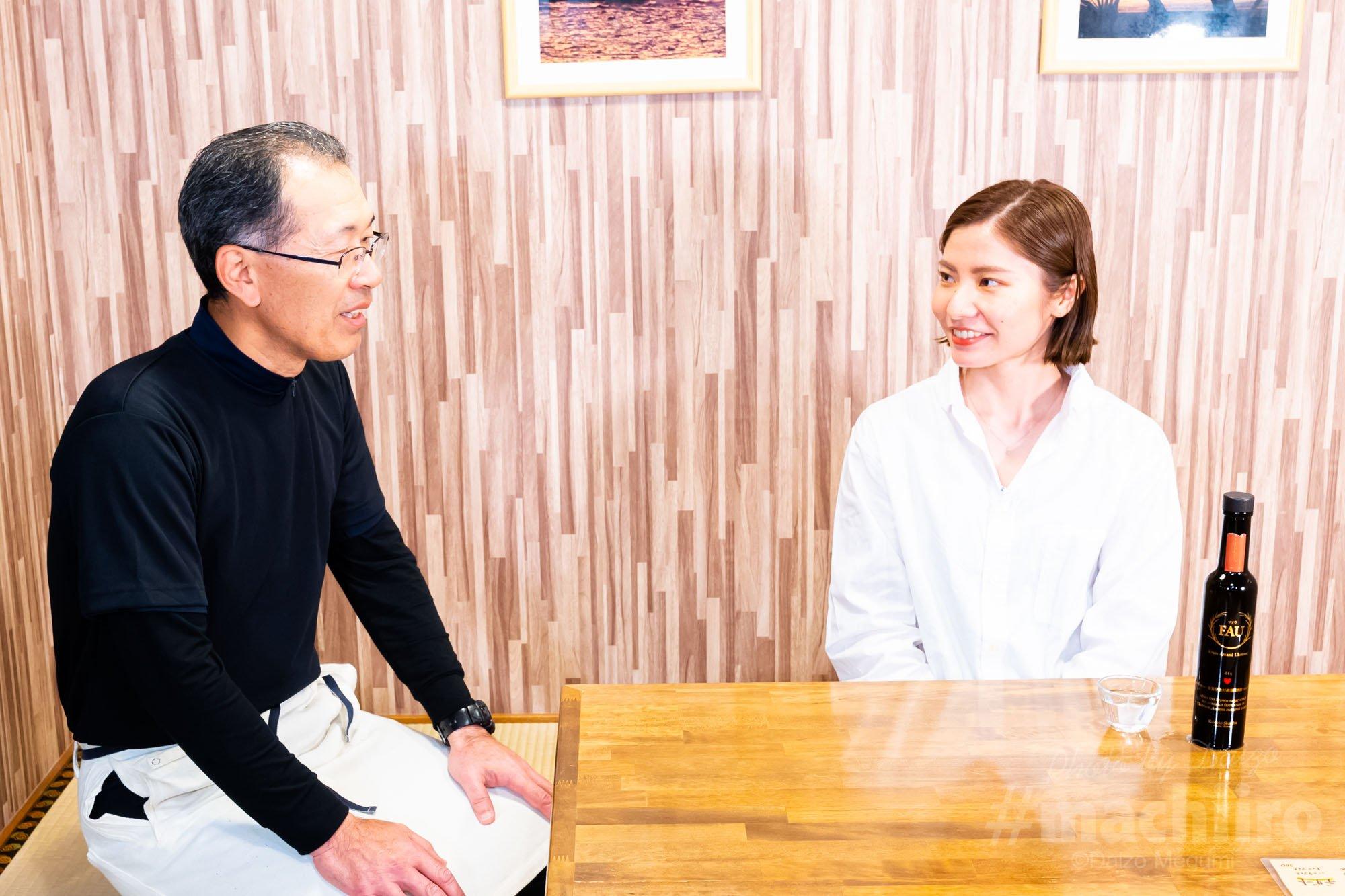 美味しいって幸せ10 お食事処蓑 インタビュー machiiro 記事写真 1