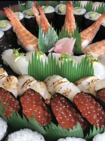 ヨロン島で唯一の寿司屋 お食事処 泰斗寿司写真